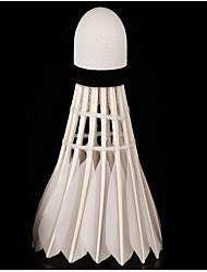 Bola de Badminton( DEPenas de Ganso,Branco) -Elasticidade Alta Durabilidade