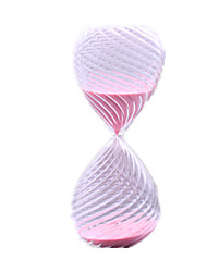 Hourglasses Novelty Toy Toys Glass Pink For Boys / For Girls 8 to 13 Years / 14 Years & Up