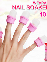 10 Pcs Manicure Tools Nail Art Supplies Wholesale Of Removing A Set/Crystal/Phototherapy Armour