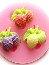 1Pcs DIY Cake Mould Strawberry Mould For  Chocolate Or Cake High Quality 6Cm*1.2Cm