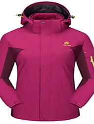 Ski Wear Tops Women's Winter Wear Winter Clothing Waterproof Thermal / Warm Windproof Wearable BreathableSkiing Skating Backcountry