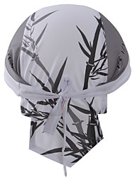 XINTOWN Unisex Sports Headwrap Mens and Womens Cap Quick Dry Cycling Transfer Headband Skull Headband Green and White