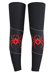 Beinlinge/Knielinge Fahhrad warm halten Leichtes Material Komfortabel Schützend Unisex Schwarz LYCRA®