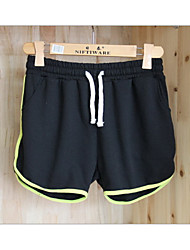 Casual pants shorts running large size thin thin Terry