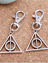 Wedding Triangle Personality Key Chain