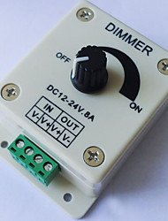 Led Manual Knob Dimmer Dimmer Switch LED Monochrome Controller Low Voltage 12 / 24V