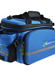 Sac de VéloSac de Porte-Bagage/Double Sacoche de VéloEtanche Zip étanche Résistant aux Chocs Vestimentaire Ecran tactile Respirable
