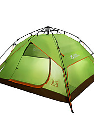 MOBI GARDEN® 3-4 persons Tent Triple Automatic Tent One Room Camping Tent OxfordWaterproof Breathability Ultraviolet Resistant Windproof