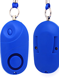 120 Db Professional Anti Robbery Personal Pendant Safey Emergency Alert AlarmLED  Flashlight Keychain