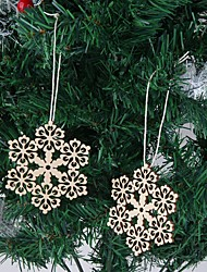 Wood Wedding Decorations-10Piece/Set Winter Non-personalized