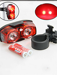 Luz Traseira Para Bicicleta / luzes de segurança LED - Ciclismo Prova-de-Água AAA 80 Lumens Bateria Ciclismo-XIE SHENG