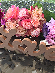 Wooden LOVE wedding decoration items Wood DIY letter furnishing articles wedding