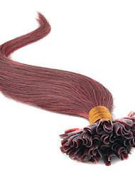 Extensions de cheveux humains Cheveux humains 50 18,20,22,24 Extension des cheveux