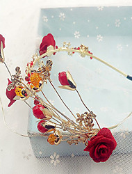 Women's Alloy Headpiece-Wedding Flowers 1 Piece