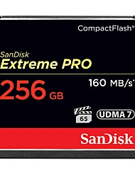 SanDisk 256GB Compact Flash  CF Card карта памяти Extreme PRO 1067X UDMA7