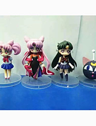Sailor Moon Sailor Moon PVC 7 Anime Action Figures model Toys Doll Toy