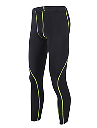 Getmoving® Men's Running Tracksuit Leggings Pants/Trousers/Overtrousers Compression Clothing BottomsQuick Dry Anatomic Design Moisture