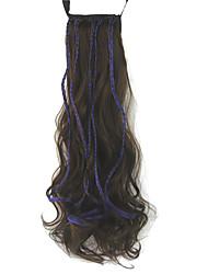 Extensions de cheveux humains Synthetic 90G 55CM Extension des cheveux