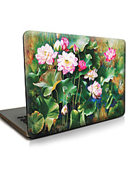 "Case for Macbook 13"" Macbook Air 11""/13"" Macbook Pro 13""/15"" MacBook Pro 13""/15"" with Retina display Flower Plastic Material Lotus Apple Laptop Case"
