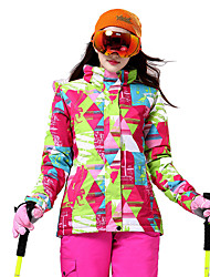 Sports Ski Wear Tops Women's Winter Wear Polyester Classic Winter Clothing Thermal / Warm Downhill Winter