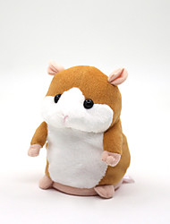Mimicry Pet Interactive Talking Hamster Plush Toy