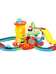 Track Rail Car Toys Car Toys Plastic Rainbow Model & Building Toy