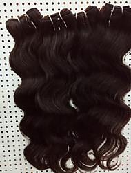 4 Pièces Ondulation naturelle Tissages de cheveux humains Cheveux Brésiliens 8-30inch Extensions de cheveux humains