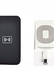 Kit de recharge sans fil pour iPhone qi 6 5 5c 5s chargeur recharge sans fil pad et une carte de récepteur kit