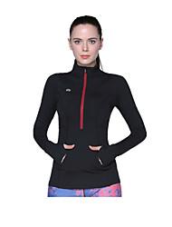 Esportivo®Ioga Blusas Confortável Elasticidade Alta Wear Sports Ioga Mulheres