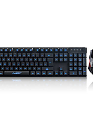 Gaming Mouse USB 800dpi Gaming keyboard USB Ajiazz Ajazz机械战士