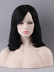 Beautiful Mid-length Capless Wigs Natural Straight Human Hair