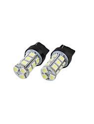 2 шт 7443 7440 T20 белый 18 светодиодов 5050 SMD лампы тормозной задний фонарь