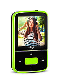 Aigo MP3 MP3 WMA WAV FLAC APE OGG AAC Bateria Li-on Recarregável