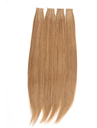 50pcs/lot 100 gram Stock Light Color Mongolian Remy Tape In Hair Extensions 20 inch Skin PU Weft Hair Extensions NEW!!!