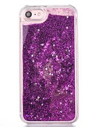Para iPhone X iPhone 8 iPhone 7 iPhone 6 Funda iPhone 5 Carcasa Funda Líquido Cubierta Trasera Funda Color Camuflaje Suave TPU para Apple