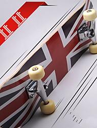 Planches à roulettes complètes Drapeau national Professionnel en alliage d'aluminium Enfant Unisex Adult 31 pouces