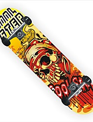 Skateboard 31 inch Cruiser with Abec-7 Bearings 60mm 90A Wheels
