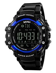 Masculino Relógio Esportivo Relógio Inteligente Relógio de Pulso DigitalLED Controle Remoto Calendário Cronógrafo Impermeável alarme