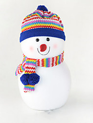 "30CM/12"" Christmas Decoration Gift Standing Snowman Doll Plush Toy New Year Gift"