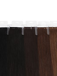 20pcs Neitsi 16inch  Straight Remy Hair  PU Hair Extension 30g/pack