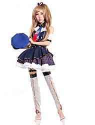 Love Live Kotori Minami Cosplay Costumes Solid Dress / Hat / Tie