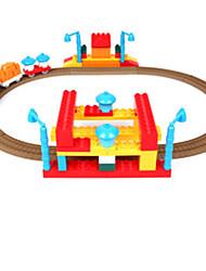 Трек вагоностроительный Необычные игрушки Игрушки Оригинальные Радужный Пластик День детей