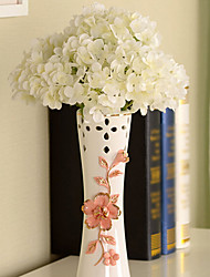 Silk / Plastic Hydrangeas Artificial Flowers