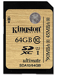 Kingston 64GB scheda SD scheda di memoria UHS-I U1 Class10 ultimate