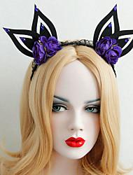 Headpiece Inspired by Cosplay Cosplay Anime Cosplay Accessories Headpiece Black Terylene Male / Female / Kid