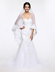 Wedding Veil One-tier Chapel Veils Net