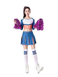 Cheering Squad Costumes Solid Top / Skirt / Handball