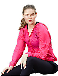 Running Tops Women's / Kid's Long Sleeve Breathable / Quick Dry / Windproof Yoga / Taekwondo / Climbing / Golf / Leisure Sports Sports