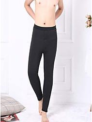 Hommes Slim Chino Pantalon,simple Décontracté / Quotidien Léopard Taille Haute Elasticité Elasthanne Laine Extensible Automne Hiver