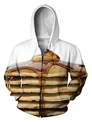 Festival/Holiday Halloween Costumes Brown & White Print Christmas Unisex Polyester